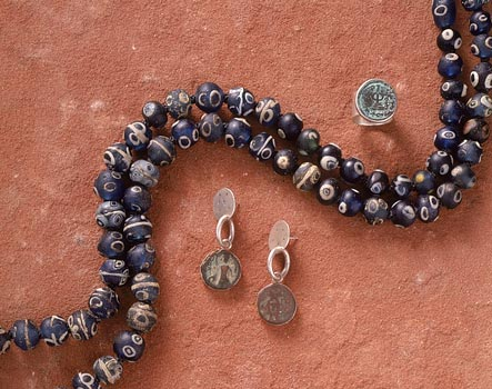 Excavated trade beads from Africa and Ancient Seals