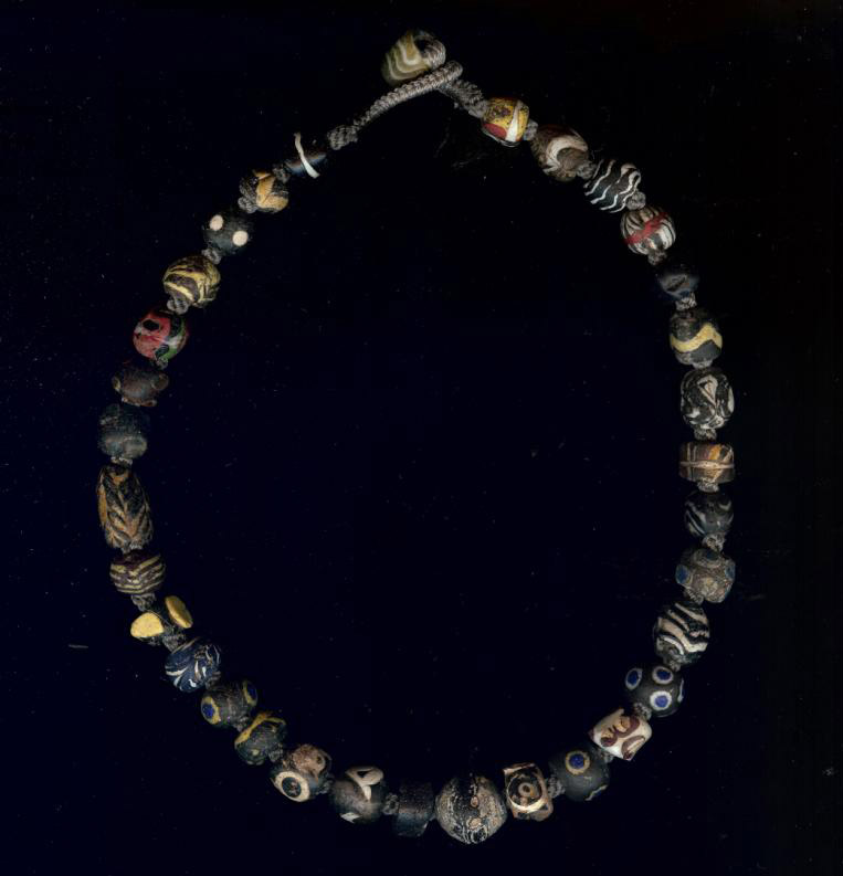 Roman Eye Glass Beads